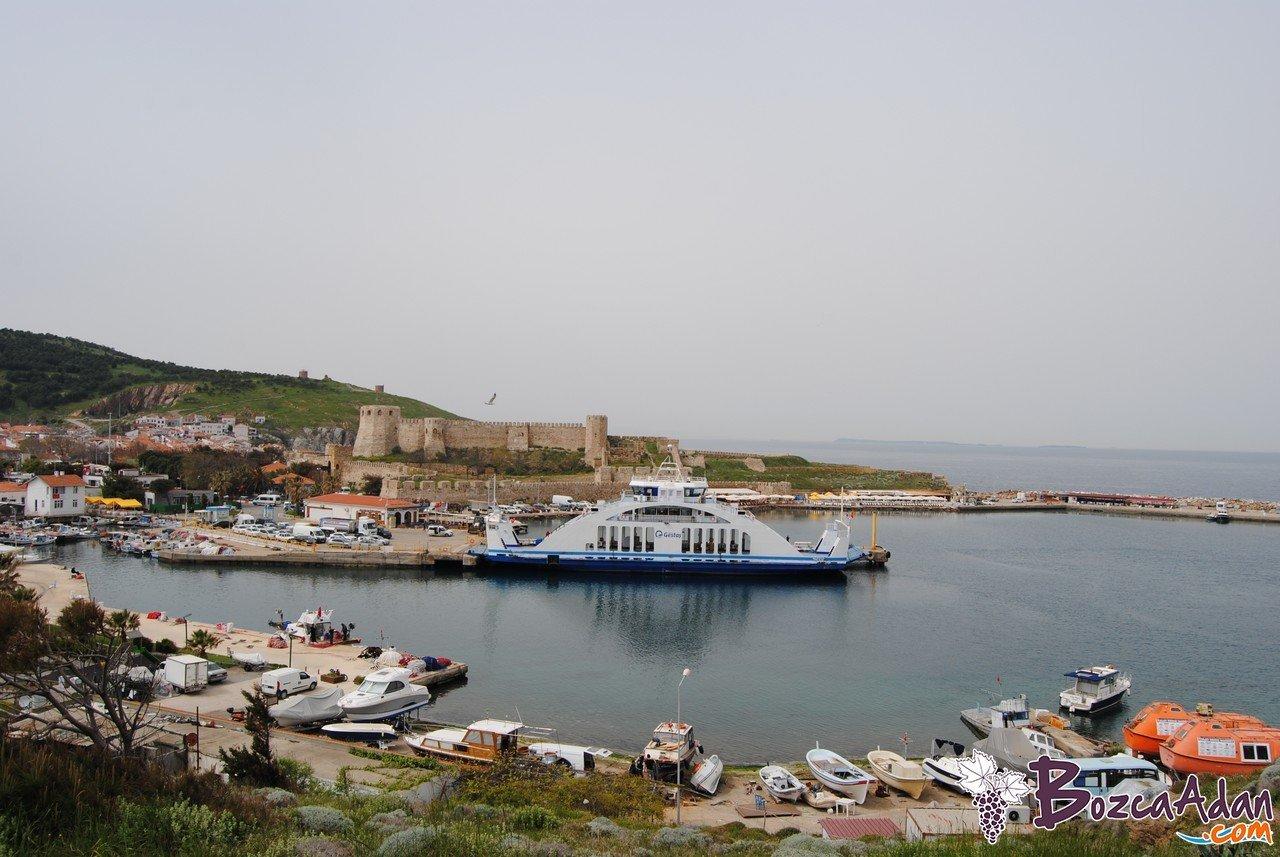 bozcaada gestaş feribot seferleri