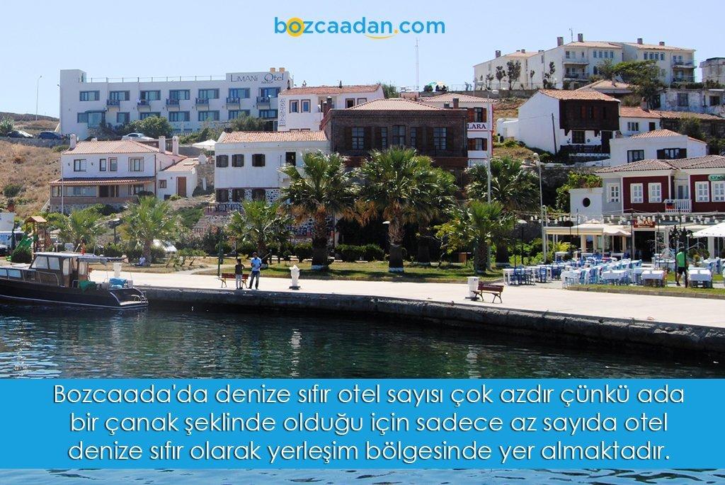 bozcaada denize sifir otel
